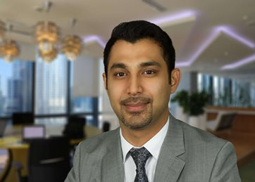 Muhammad Husnain, Lead Partner for Abu Dhabi